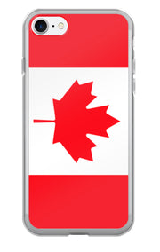 Flag of Canada Protective iPhone Case (For all iPhone 5,6,7 Models) | iPhone 7 | Cellphone Accessories | JacksonsRunaway