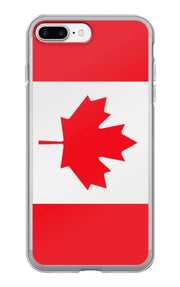 Flag of Canada Protective iPhone Case (For all iPhone 5,6,7 Models) | iPhone 7 Plus | Cellphone Accessories | JacksonsRunaway