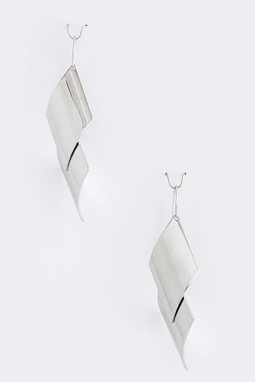 New Addition Drop Earrings - Silver | JacksonsRunaway
