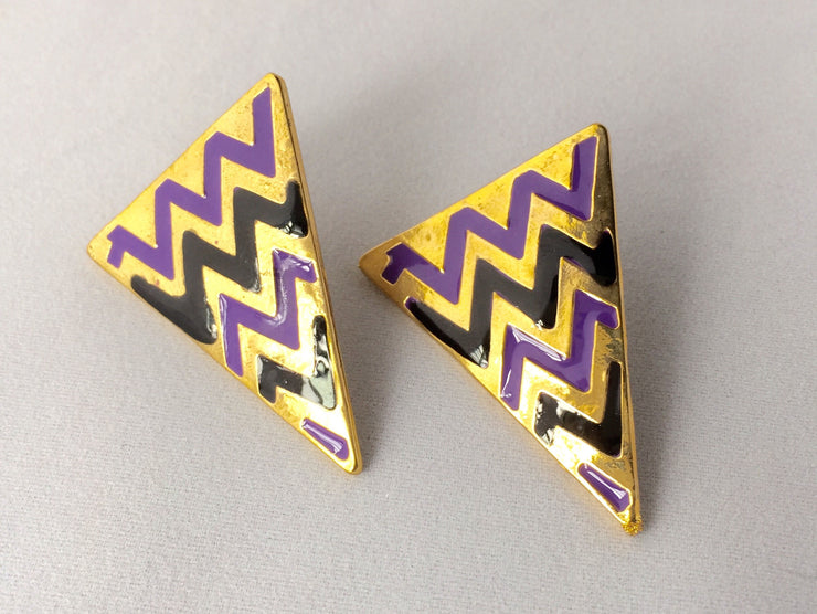 Chevron Pointers Earrings - Jacksons Runaway