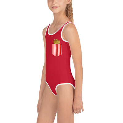 Fries Kids Swimsuit |  | swimwear | JacksonsRunaway