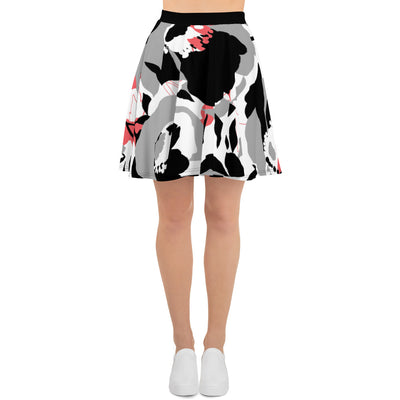 Unique Floral Women's Skater Skirt