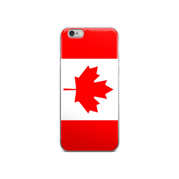 Flag of Canada Protective iPhone Case (For all iPhone 5,6,7 Models) | iPhone 6/6s | Cellphone Accessories | JacksonsRunaway