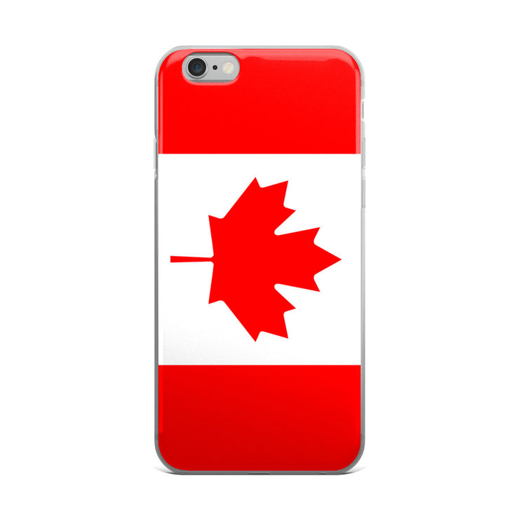 Flag of Canada Protective iPhone Case (For all iPhone 5,6,7 Models) | iPhone 6 Plus/6s Plus | Cellphone Accessories | JacksonsRunaway