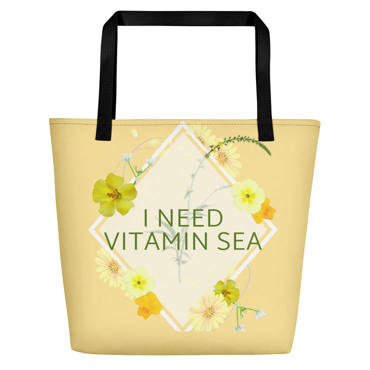 Vitamin Sea Beach Bag | Default Title | Beach Bag | JacksonsRunaway