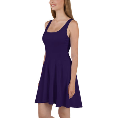 Taste of Fall Women's Skater Purple JacksonsRunaway Dress