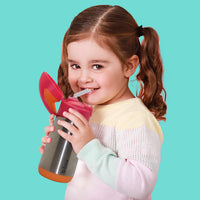 *new*  insulated drink bottle - lemon sherbet