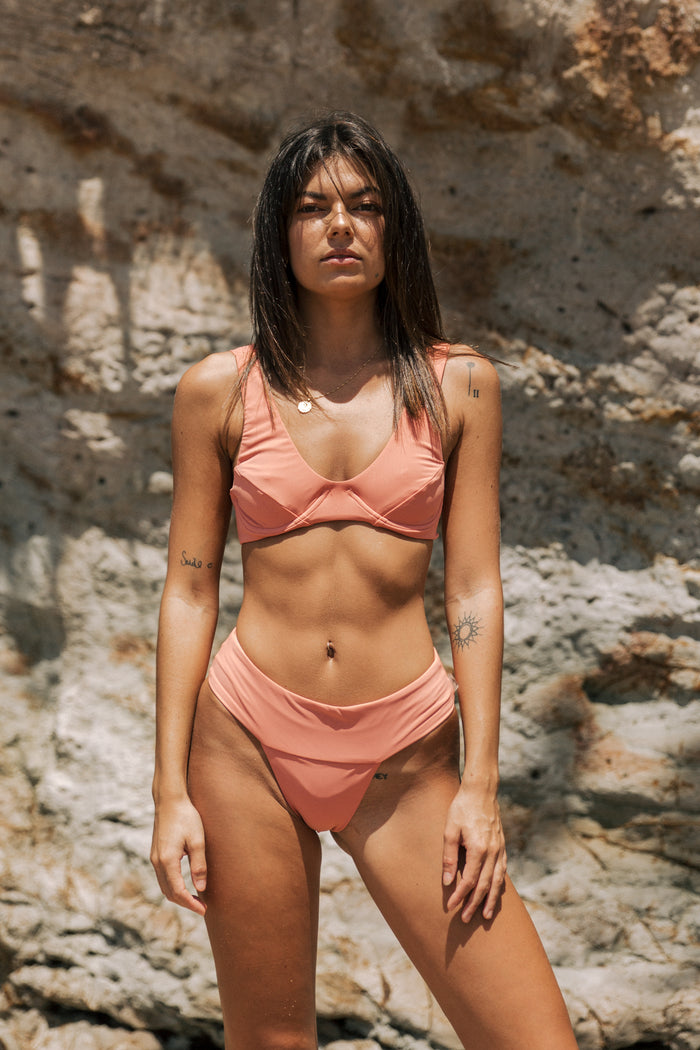 Kendall Waistband Bottom // Sunkissed