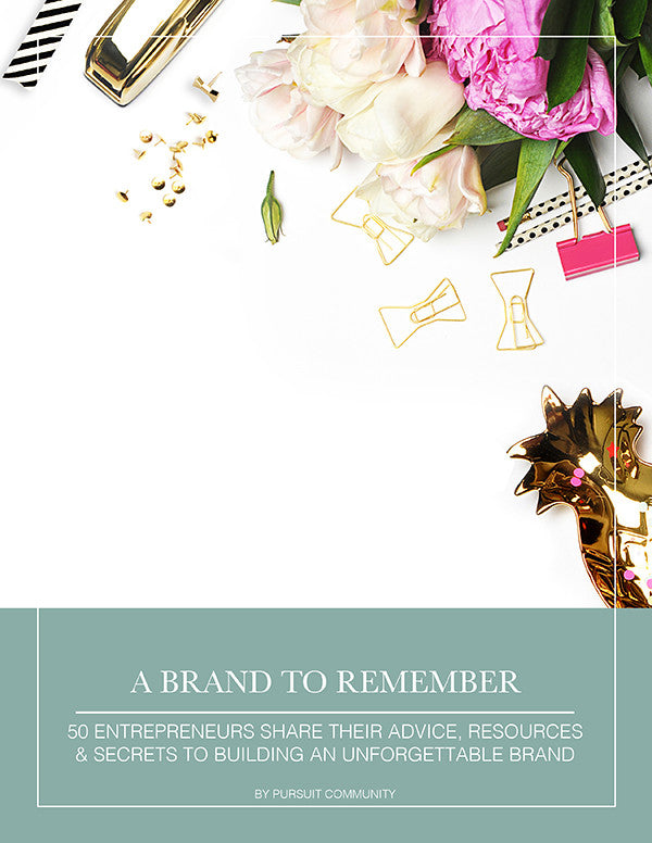 A Brand To Remember - Pursuit E-Book