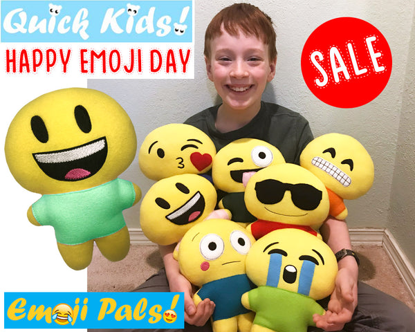 Happy Emoji Day Sale