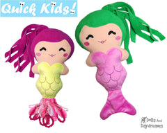 ITH Quick Kids PLUS Mermaid Pattern