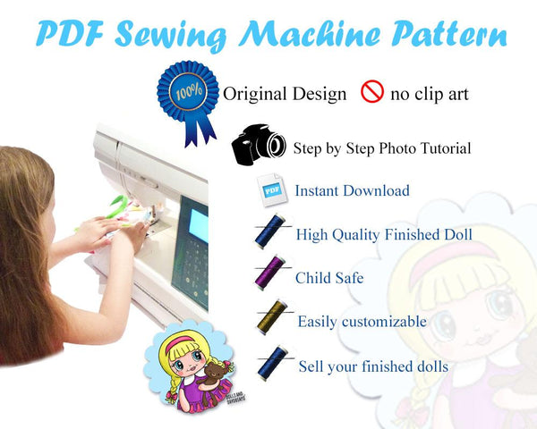 Quick Kids Puppy Hatchling Sewing Pattern