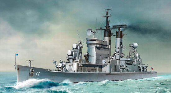 Dragon USS Chicago CG-11 1/700 Scale Model Kit