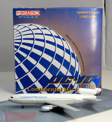 Jet X Continental Micronesia DC-10 Diecast Model 1/400 Scale with Stand