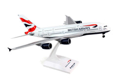 Skymarks Model British Airways A380 1/200 Scale with Stand and Gears #G-XLEA
