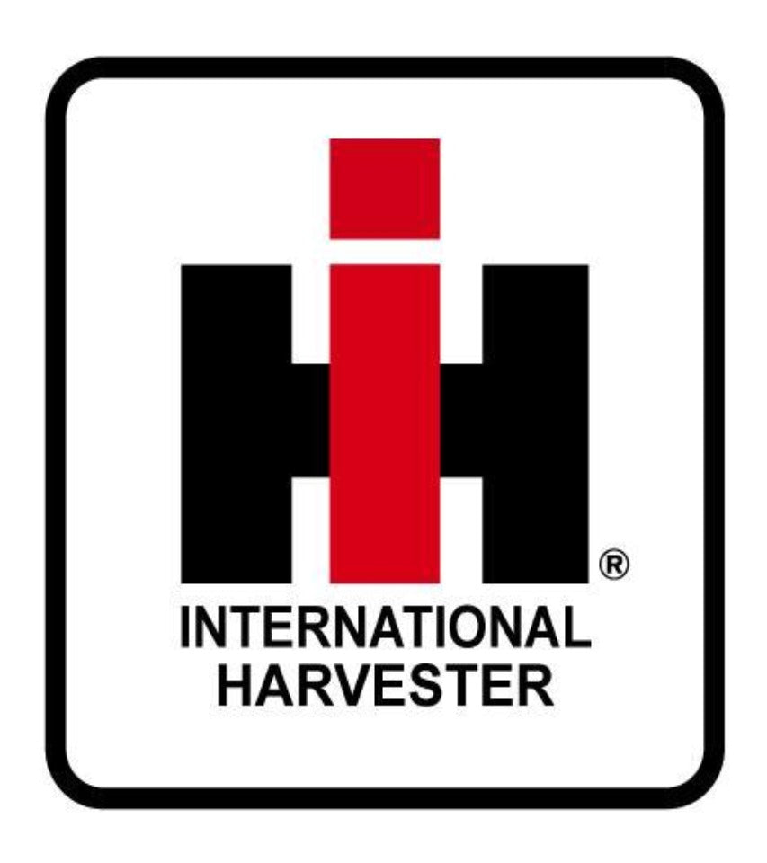 International Harvester Sticker