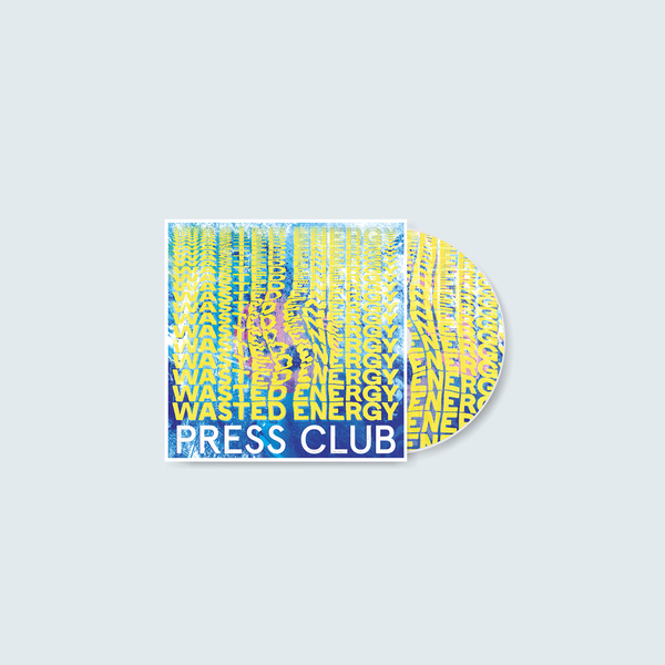 Press Club - Wasted Energy (CD)
