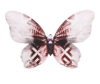 Latvian Powerfly Butterfly Brooch