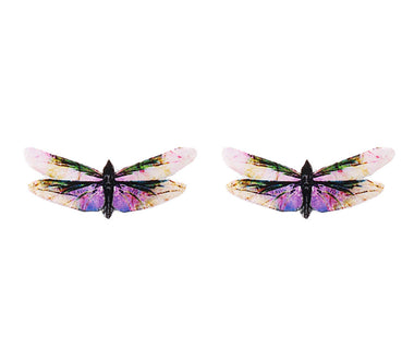 Full Mooners Butterfly Earrings