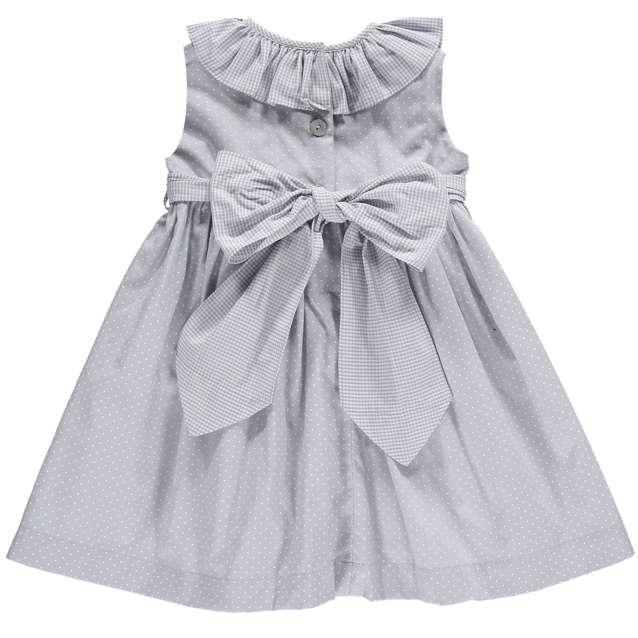 Classic Sweet Grey Dress