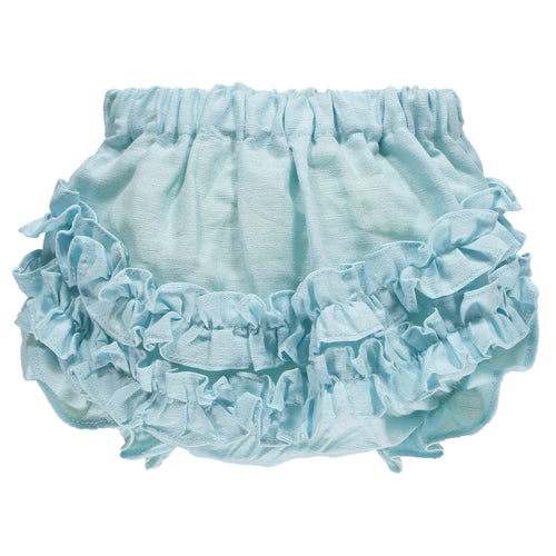 Water Blue Baby Bloomers