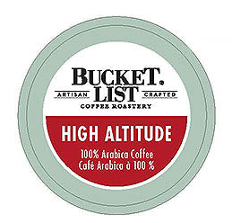 Bucket List Coffee Roastery High Altitude