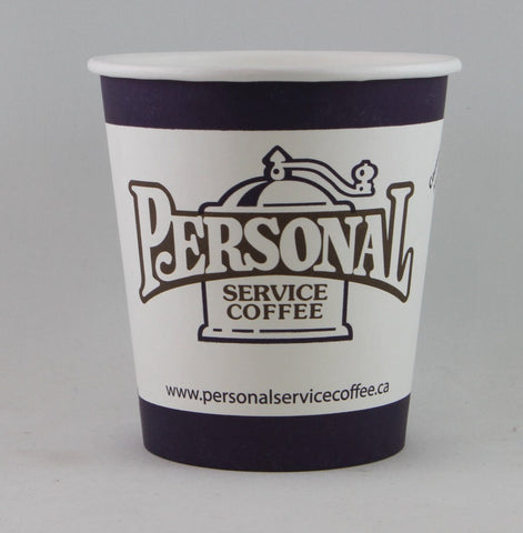 Personal Service Coffee Paper Cups