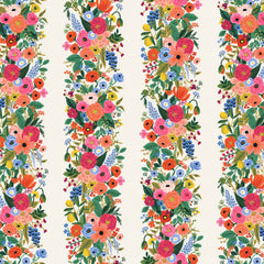 Garden Party Vines RAYON in Pink