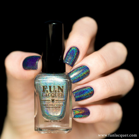 F.U.N Lacquer - Diamond (holographic top coat)