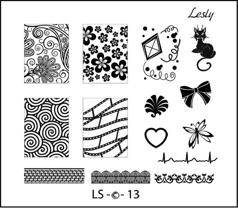 Lesly LS-13 stamping plate