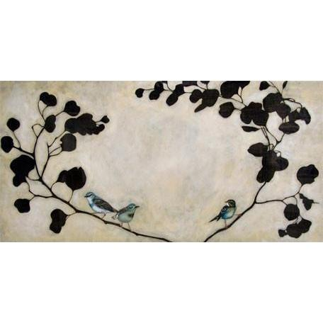 Blue Birds | Canvas Wall Art