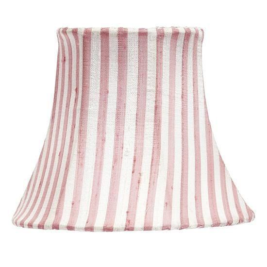 Chandelier Shade - Pink & White Stripe-Chandelier Shades-Default-Jack and Jill Boutique