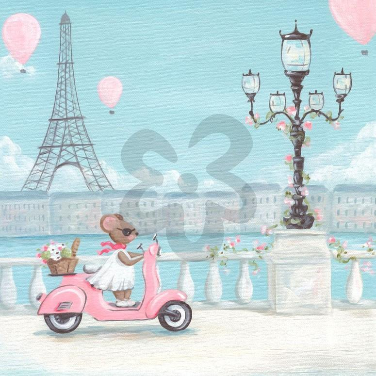 Little Pink Vespa