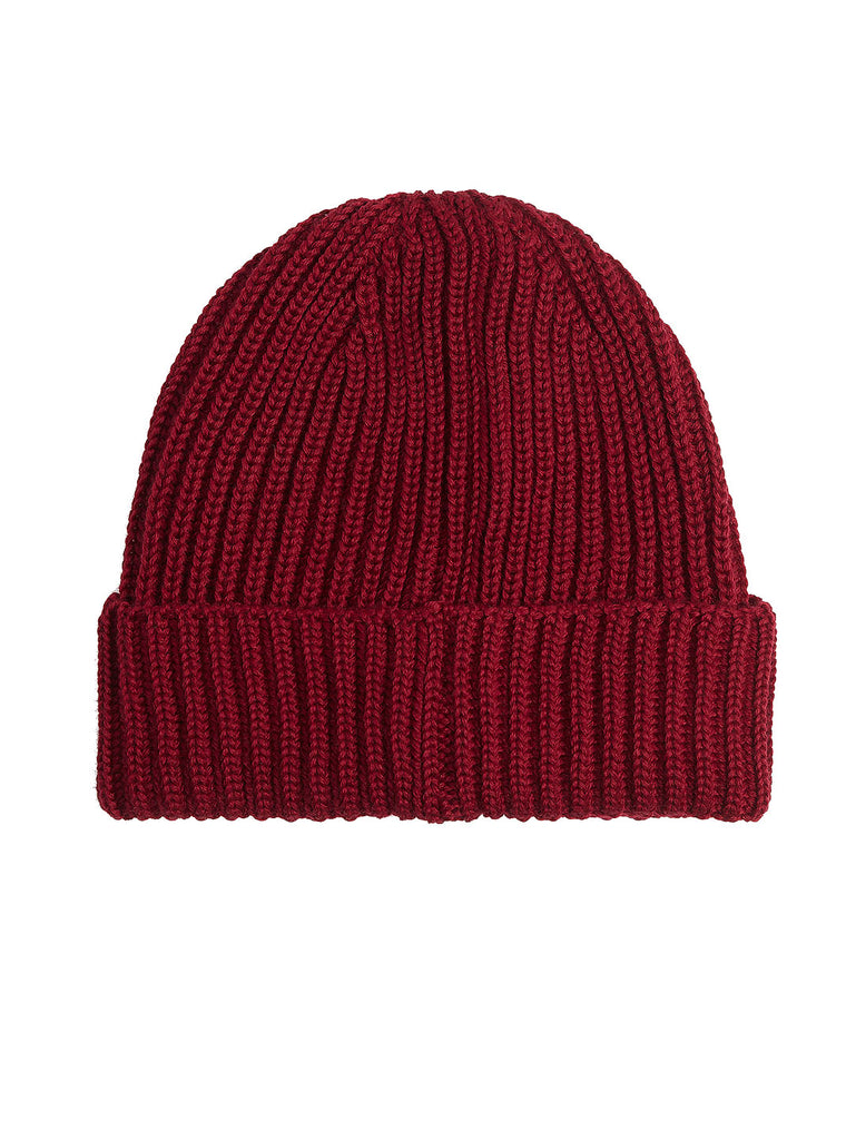 Extra Fine Merino Wool Goggle Beanie in Scooter