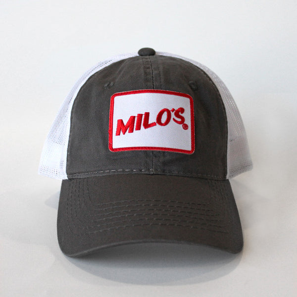 Milo's Patch Hat