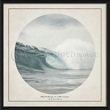 Wilderness Print - Ocean Wave - Spicher and Company | Trovati Studio