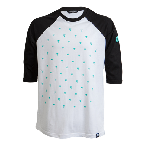 Blvd Supply Tree Dots Raglan - BLVD Supply inc