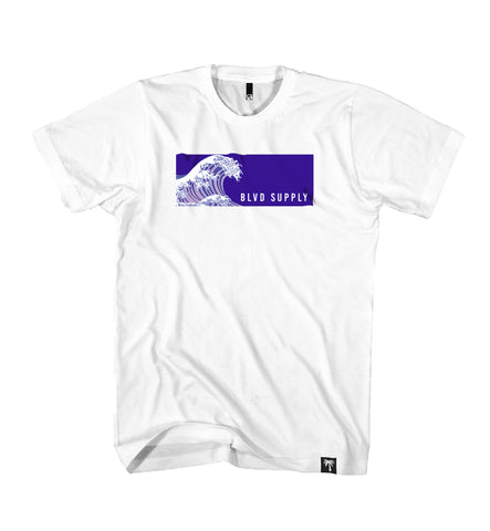 Blvd Supply Tsunami Tee - BLVD Supply inc