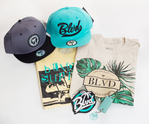 Swag Mini BLVD Box T-Shirt - Over $100 worth of items