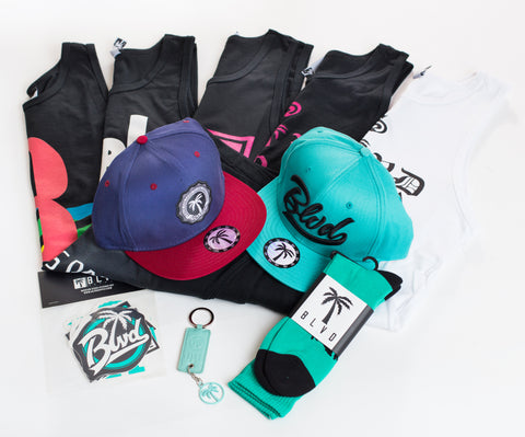 Swag BLVD Box Tanks - Over $200 worth of items.