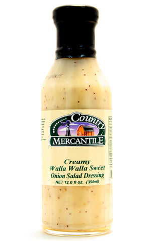 Country Mercantile Creamy Walla Walla Sweet Onion Salad Dressing