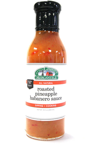 Country Mercantile Roasted Pineapple Habanero Sauce