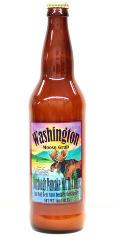 Washington Moose Grub Sourdough Pancake Mix In A Bottle