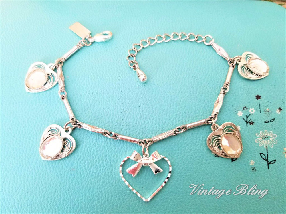 Tender Hearted Charm Bracelet
