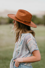 THE ANDES HAT IN BROWN
