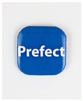 32mm Square Button Badge - Prefect
