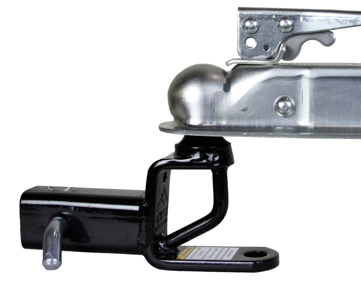 "Trio HD Receiver Hitch w/ 2"" Ball Mount (#trh1)"