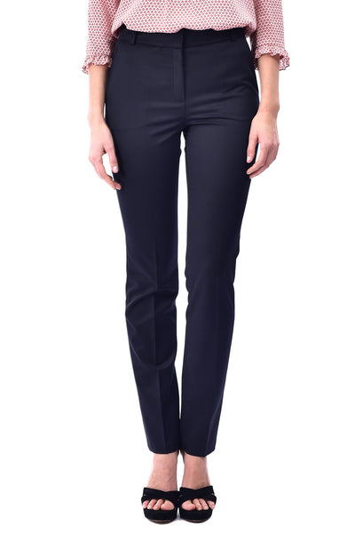 Pantaloni conici office bleumarin P2904