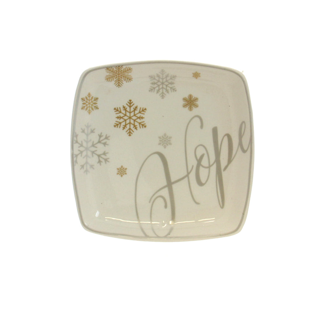 Christmas Tidbit Dish - Hope