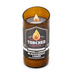 Beer Bottle Candle-Blackforest Lager-Indian Sandalwood & Cherry